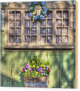 Spring Delight Wood Print