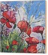 Spring Enchantement Wood Print by Andrei Attila Mezei