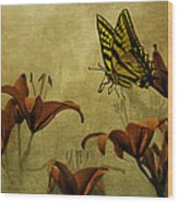 Spring Fever Wood Print by Diane Schuster