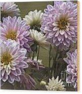 Spring Flowers Wood Print by Joe McCormack Jr