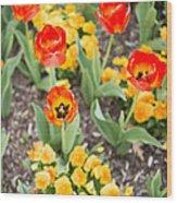 Spring Flowers No. 6 Wood Print