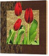 Spring Hues Wood Print