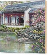 Spring In Dr. Sun Yat-sen Gardens Wood Print