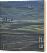 Spring In The Palouse Wood Print