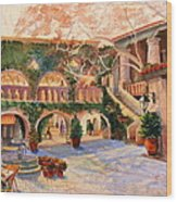 Spring In Tlaquepaque Wood Print
