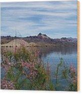 Spring Lake Mohave Wood Print