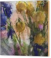 Spring Love Viii Wood Print