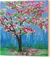 Spring Wood Print
