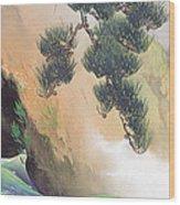 Spring Of Mountain Wood Print