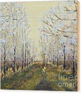 Blue Moon Acres Wood Print