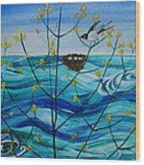 Spring On Lake Ontario Wood Print