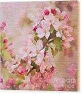 Spring Pink Wood Print