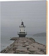 Spring Point Ledge Lighthouse Wood Print