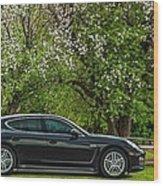 Spring Porsche Wood Print