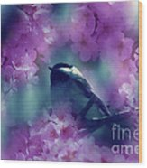 Spring Rhapsody Blossoms Wood Print