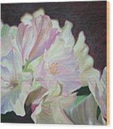 Spring Rhodys Wood Print