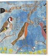 Spring Singing Beginning Wood Print