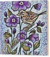 Spring Song Wood Print