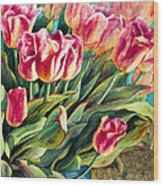 Spring Winds Wood Print