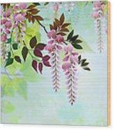 Spring Wisteria Wood Print by Bedros Awak