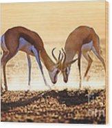 Springbok Dual In Dust Wood Print