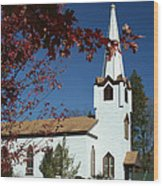 Springboro Rc Church Wood Print