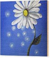 Springtime Fairies By Shawna Erback Wood Print