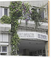 Springtime Lilacs An Farina Cologne Germany Wood Print