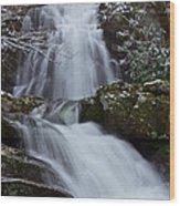 Spruce Flats Falls IIi Wood Print