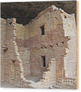 Spruce Tree House Structure Wood Print
