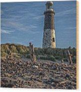 Spurn Point Lighthouse Wood Print