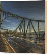 Spy Bridge Wood Print