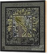 Sq Sunflower Stack Cont L Wood Print