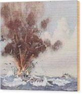 Squadron-commander A.w. Bigsworth Wood Print