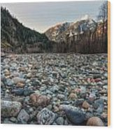 Squamish Stone View Wood Print