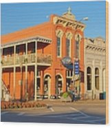 Square Books Oxford Mississippi Wood Print by Joshua House