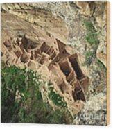 Square Tower Ruin Wood Print