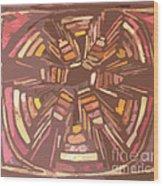 Squash Blossom Cutout Wood Print