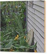 Squash Blossoms Wood Print