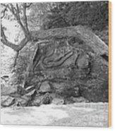 Squaw Rock  Wood Print