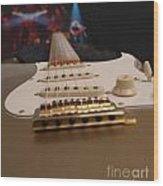 Squier Stratocastor Guitar - 3 Wood Print