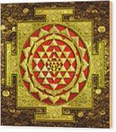 Sri Lakshmi Yantra Wood Print