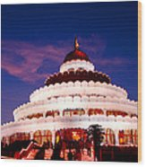 Sri Sri Ravi Shankar Ashram India Wood Print