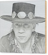 SRV Wood Print by Don Medina