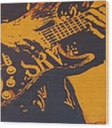 Srv  Number One Fender Stratocaster Wood Print