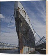 Ss United States By Jessica Berlin Wood Print