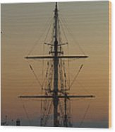 S S V  Corwith Cramer In Key West Wood Print