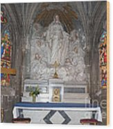 St. Aignan Church Altar Wood Print