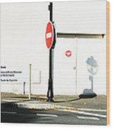 St. Aignan Signs And Shadows Wood Print
