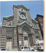St. Aloysius Catholic Church Wood Print